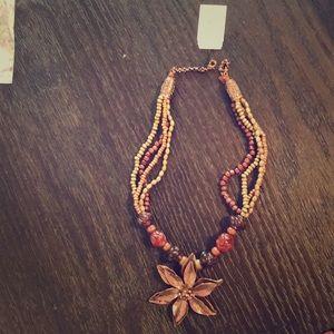 Cookie Lee blooming jasmine necklace